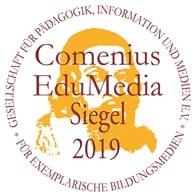 ComeniusEduMedia Siegel 2019