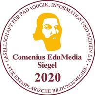 ComeniusEduMedia Siegel 2020